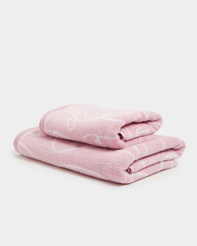 Faces Bath Towel