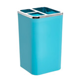 teal Plastic Toothbrush Holder