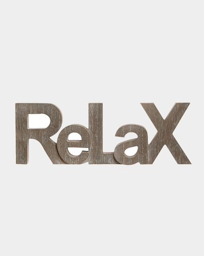 Relax Sign thumbnail