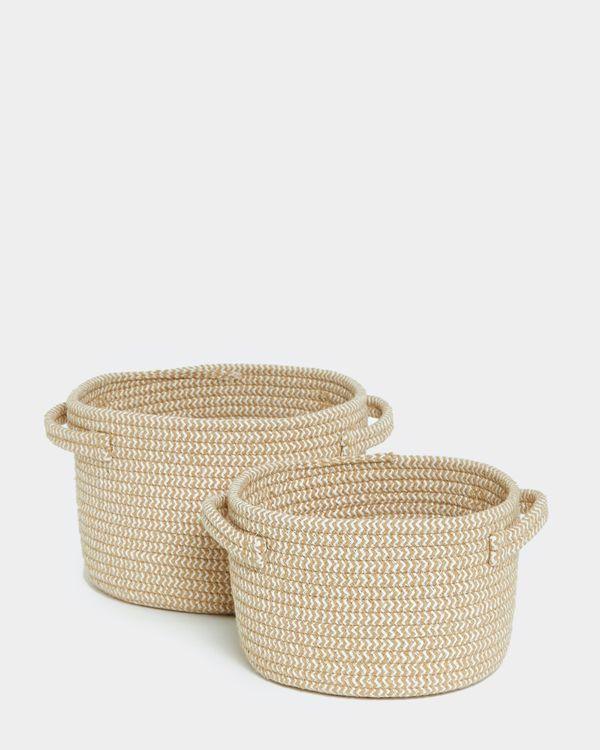Round Rope Baskets
