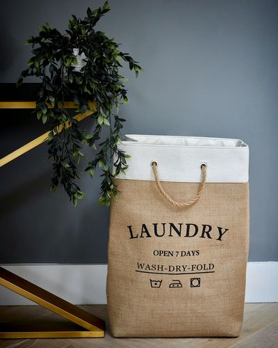 Jute Laundry Bag thumbnail