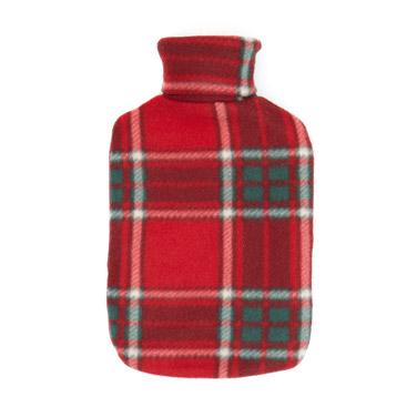 redTartan Hot Water Bottle