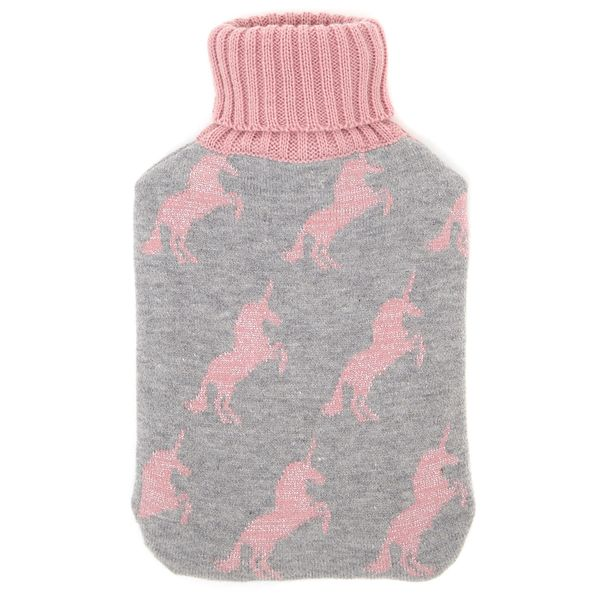 Unicorn Knitted Hotwater Bottle