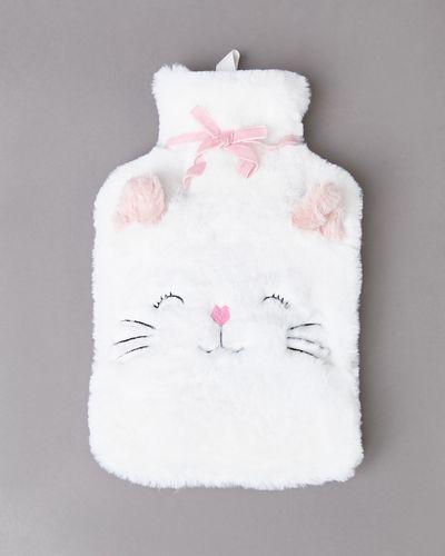 Cat Applique Hot Water Bottle thumbnail