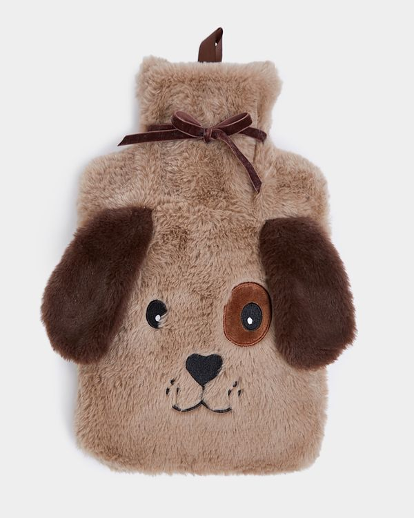 Dog Applique Hot Water Bottle