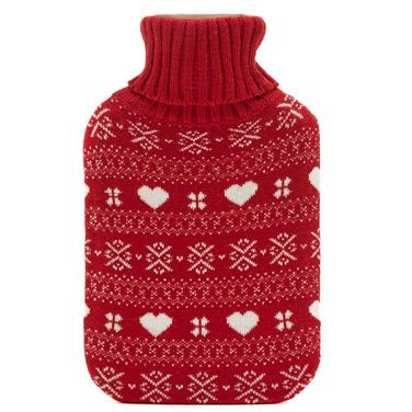 redFairisle Hot Water Bottle