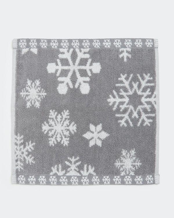 Snowflake Face Cloth