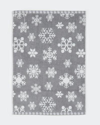 Snowflake Towel thumbnail