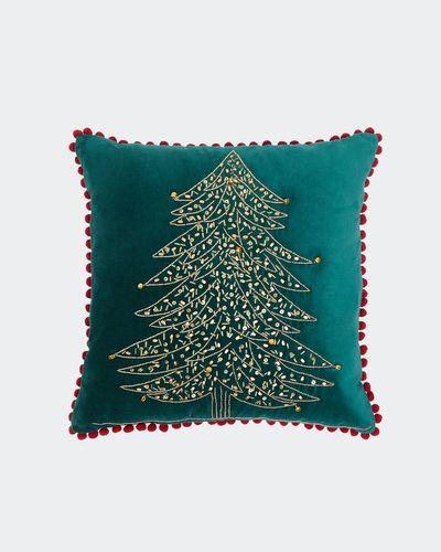 Velvet Tree Cushion