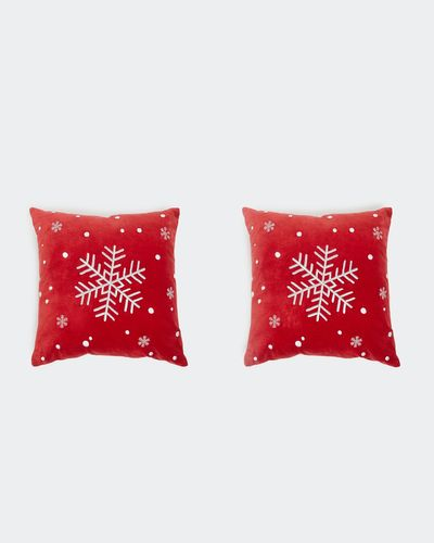 Snow Cushion Cover - Pack Of 2