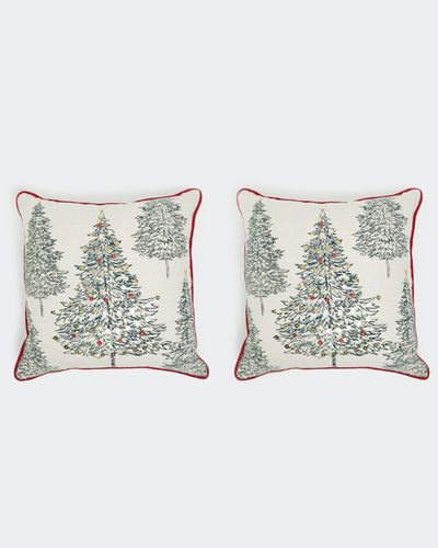 Tree Cushion Cover - Pack Of 2