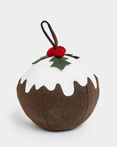Christmas Pudding Doorstop