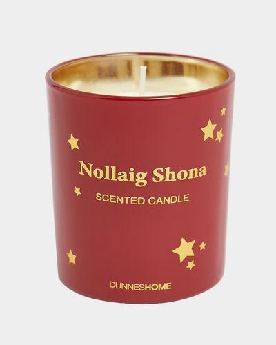 Nollaig Shona Candle