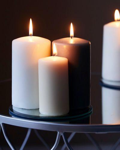 Colour Pillar Candle