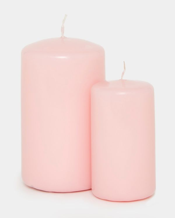 Colour Pillar Candle