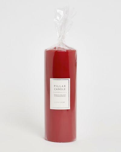 Large Red Pillar Candle thumbnail