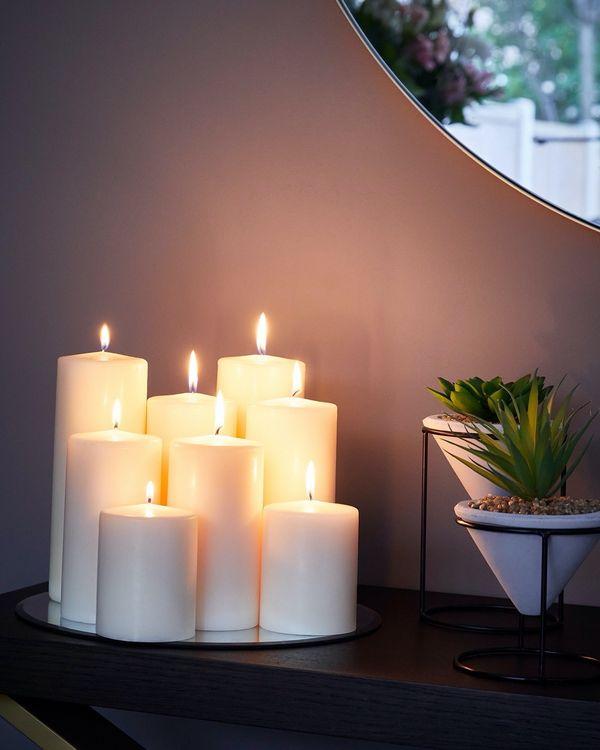 Small Pillar Candle