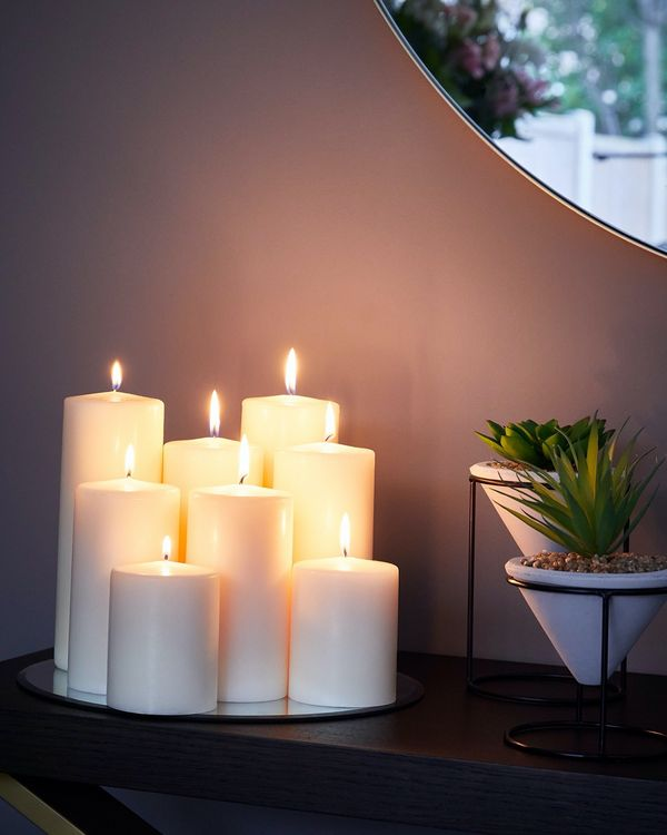 Medium Church Pillar Candle