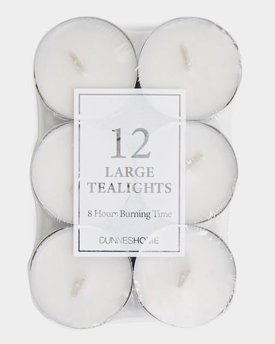 Large Tealights - Pack Of 12