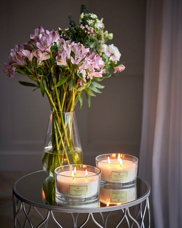 Three-Wick Scented Candle