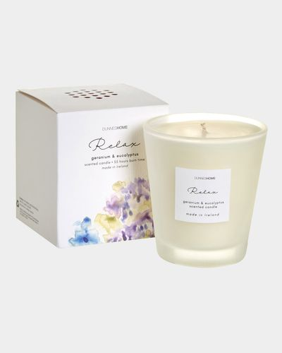 Relax Boxed Scented Candle