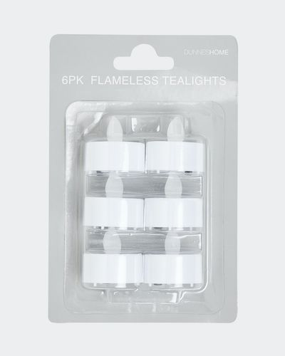 Flameless Tealights - Pack Of 6 thumbnail