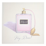 pink Perfume Canvas