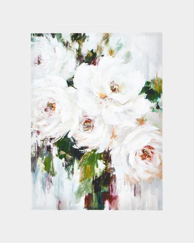 Blooming Peonies Canvas