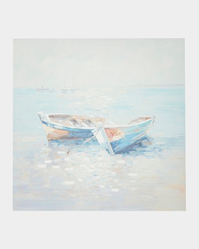 Boat Abstract Canvas