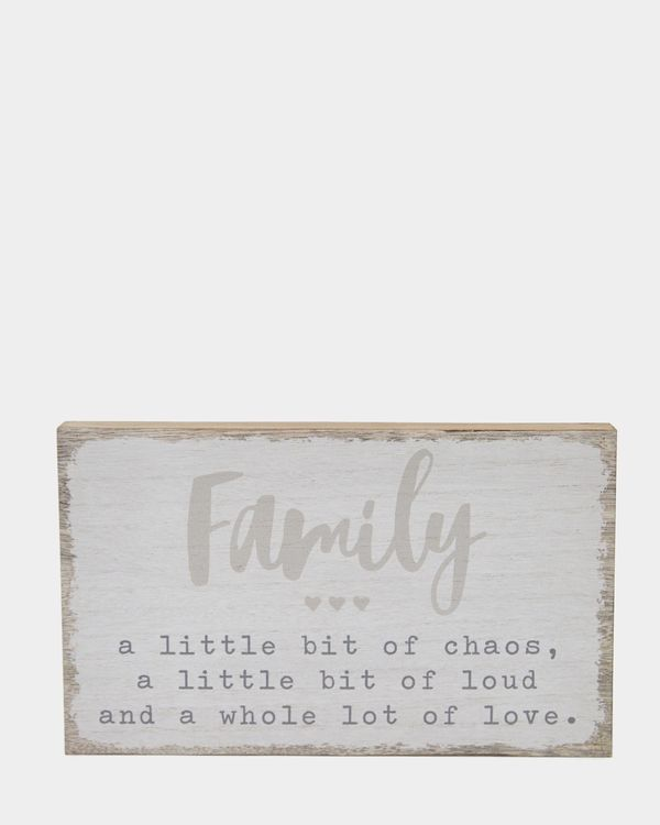 Family Block Decoration