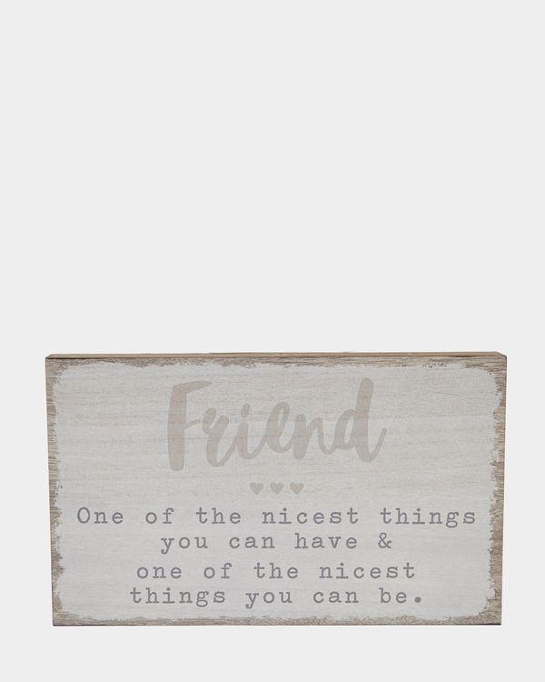 Friends Block
