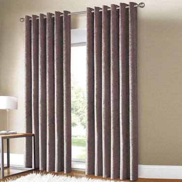 Mink Velour Curtains