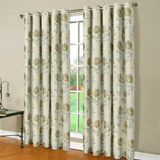 yellow Rose Blossom Curtain