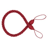 red Twist Rope Curtain Tie-back
