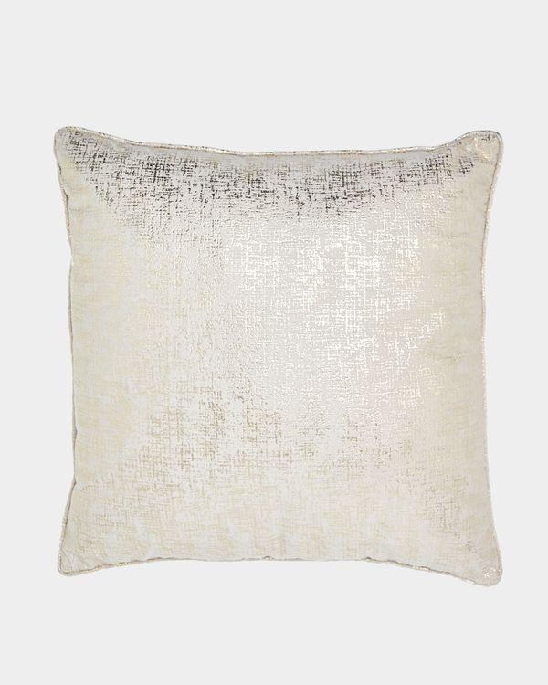 Valerie Metallic Cushion