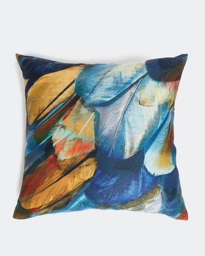 Feather Design Cushion