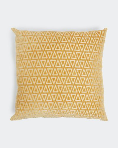 Diamond Cut Velvet Cushion thumbnail