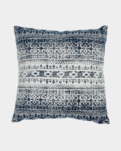 Aztec Textured Cushion