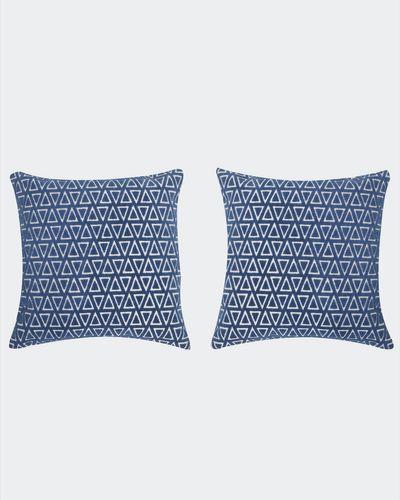 Diamond Velvet Cushion Cover - Pack of 2