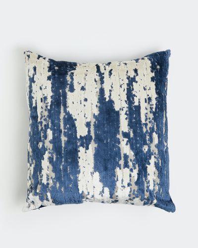Cut Velvet Stripe Cushion