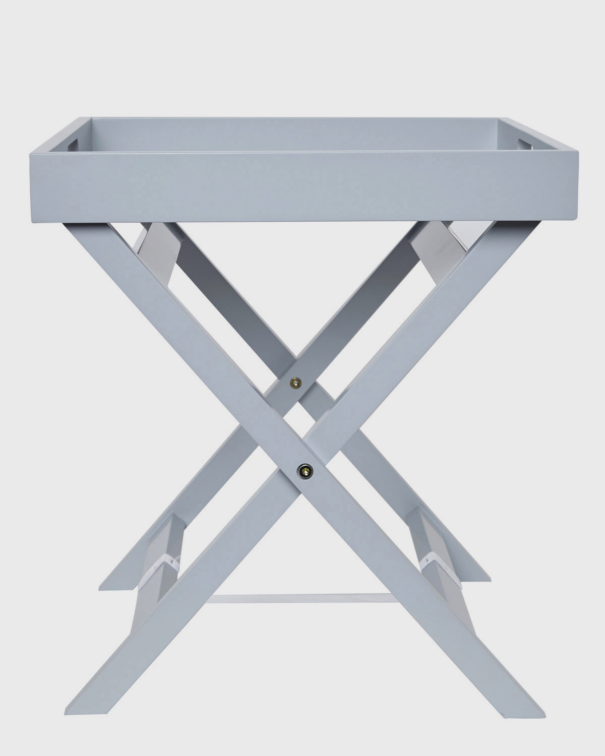 Picture of: Dunnes Stores Grey Butler Tray Table