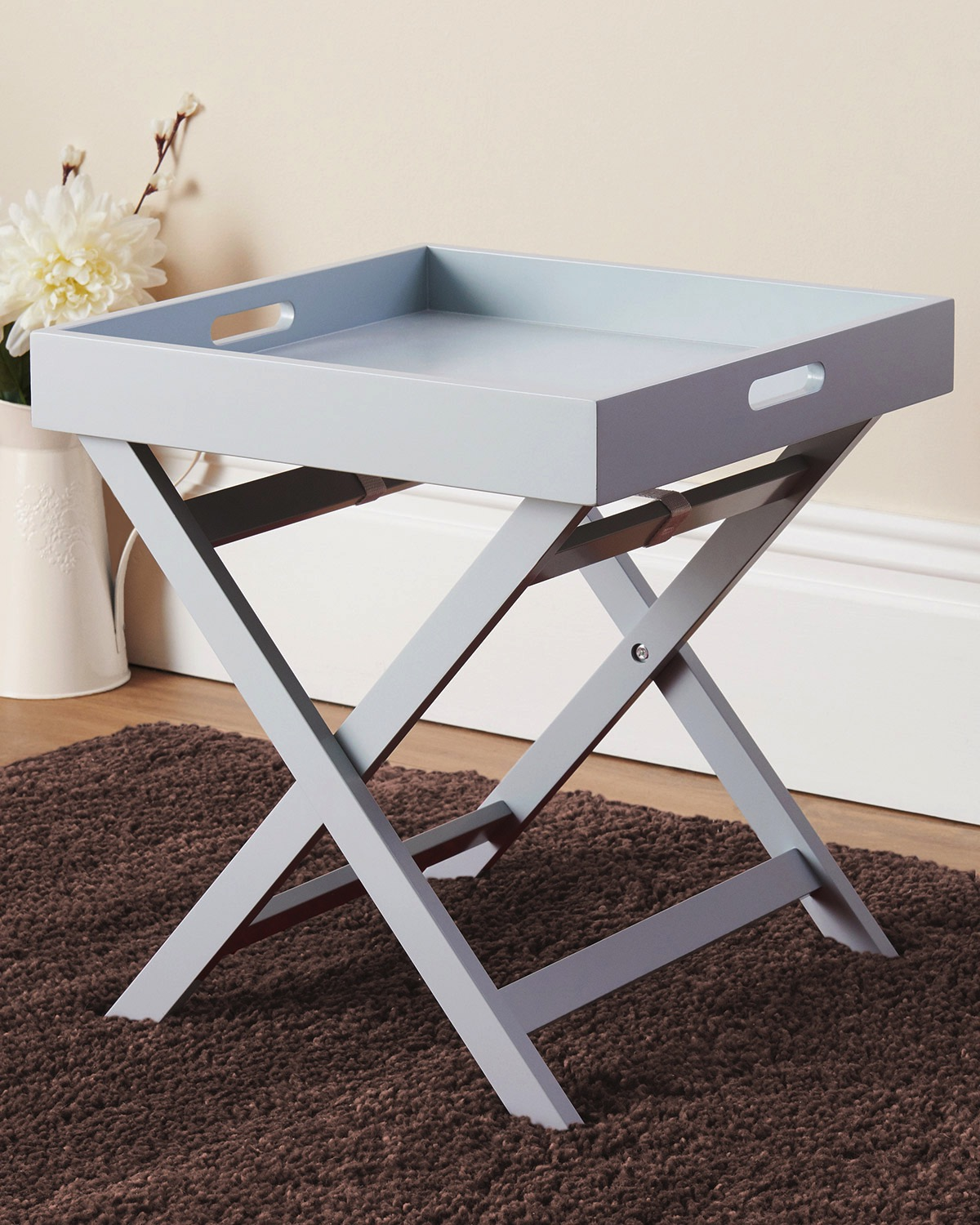 Dunnes Stores Grey Butler Tray Table