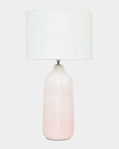 Stripe Ceramic Lamp