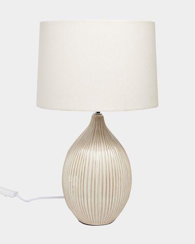 Textured Ceramic Lamp
