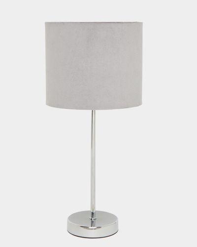 Velvet Shade Lamp