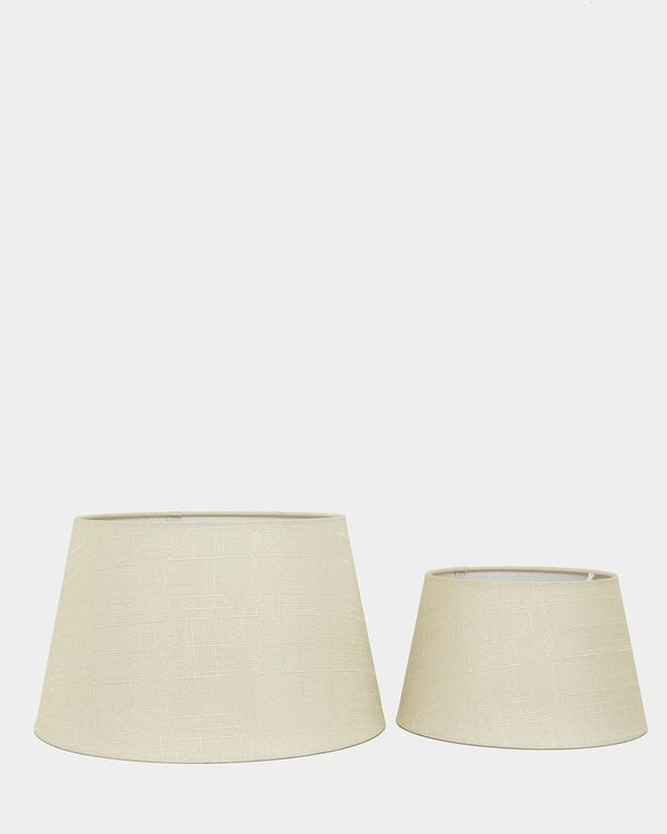 Linen Empire Lamp Shade