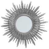 silver Sunburst Mirror