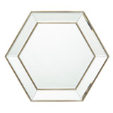 mirror Verona Hexagon Mirror