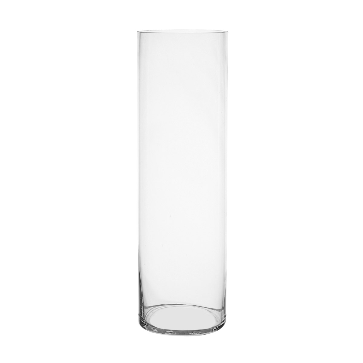 Dunnes Stores Clear Tall Glass Vase
