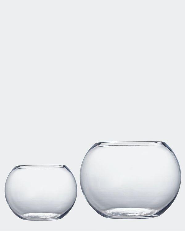 Glass Ball Vase